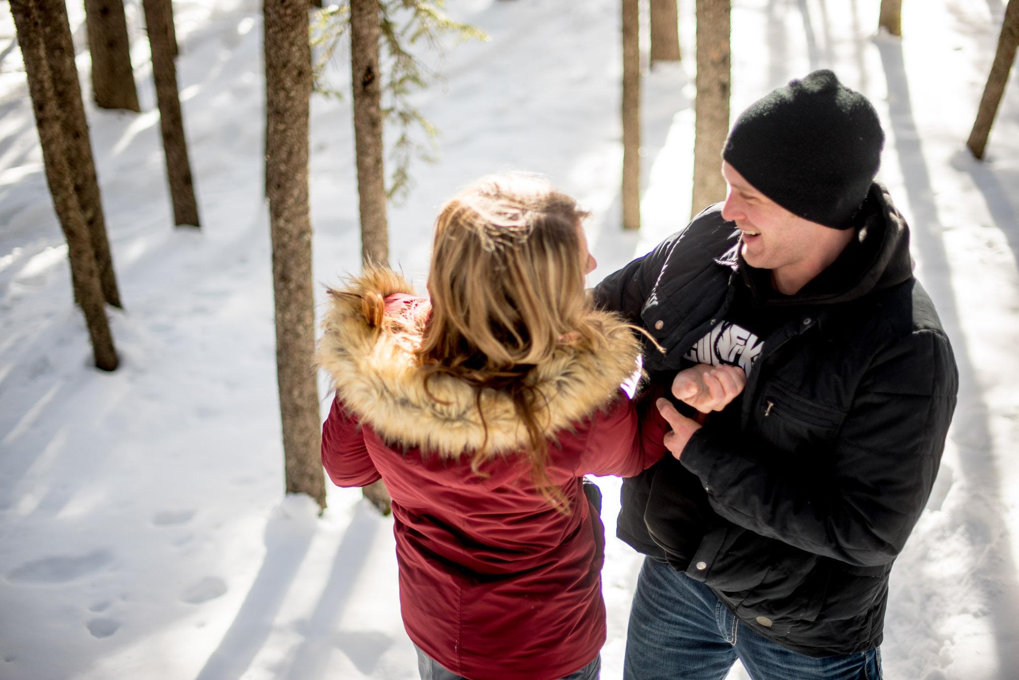 Nordegg Alberta Engagement Session