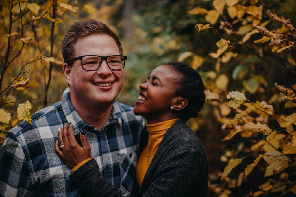 Cute Fall Engagement Photos