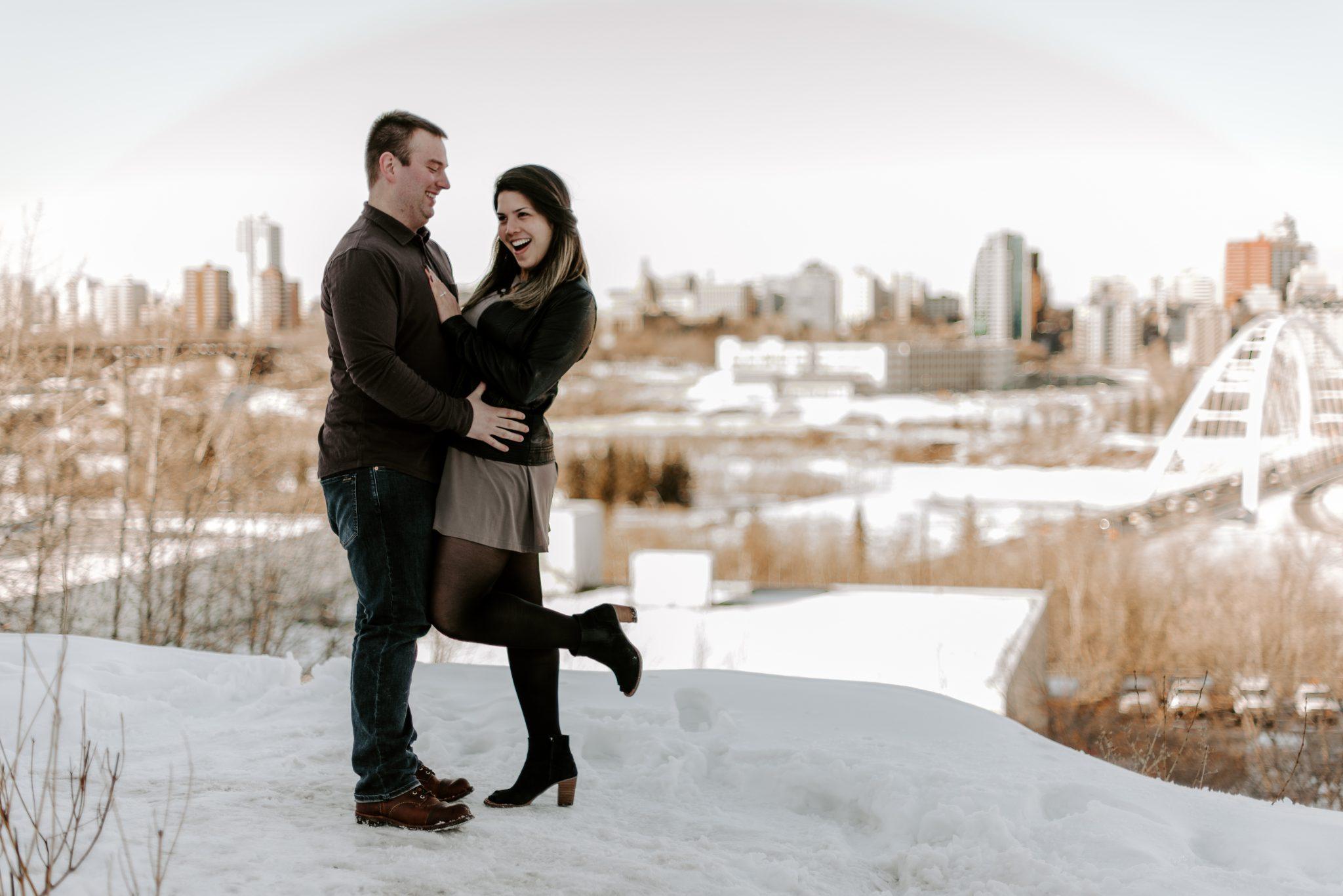 Edmonton Proposal Photography Session