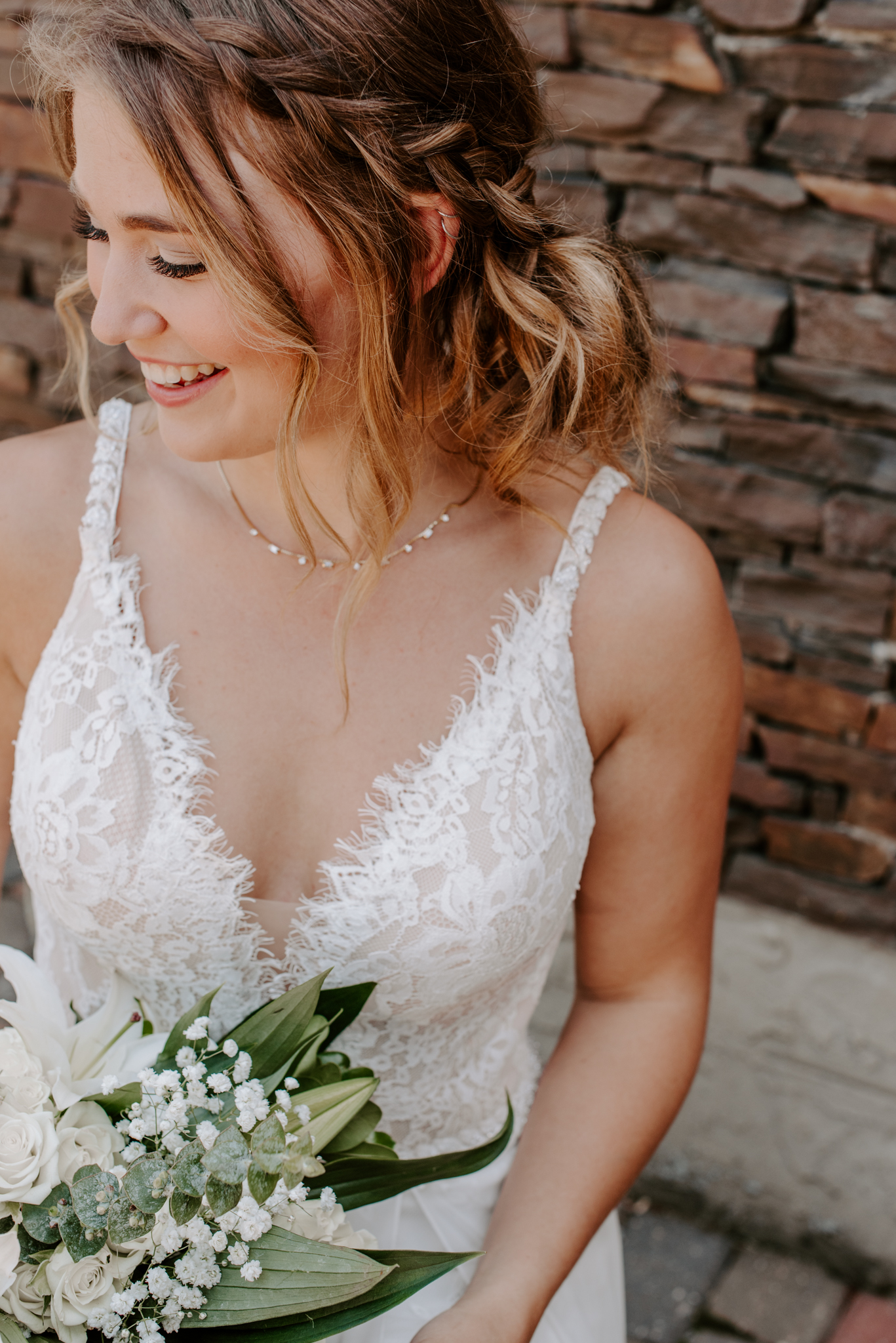 Romantic Edmonton Alberta Wedding