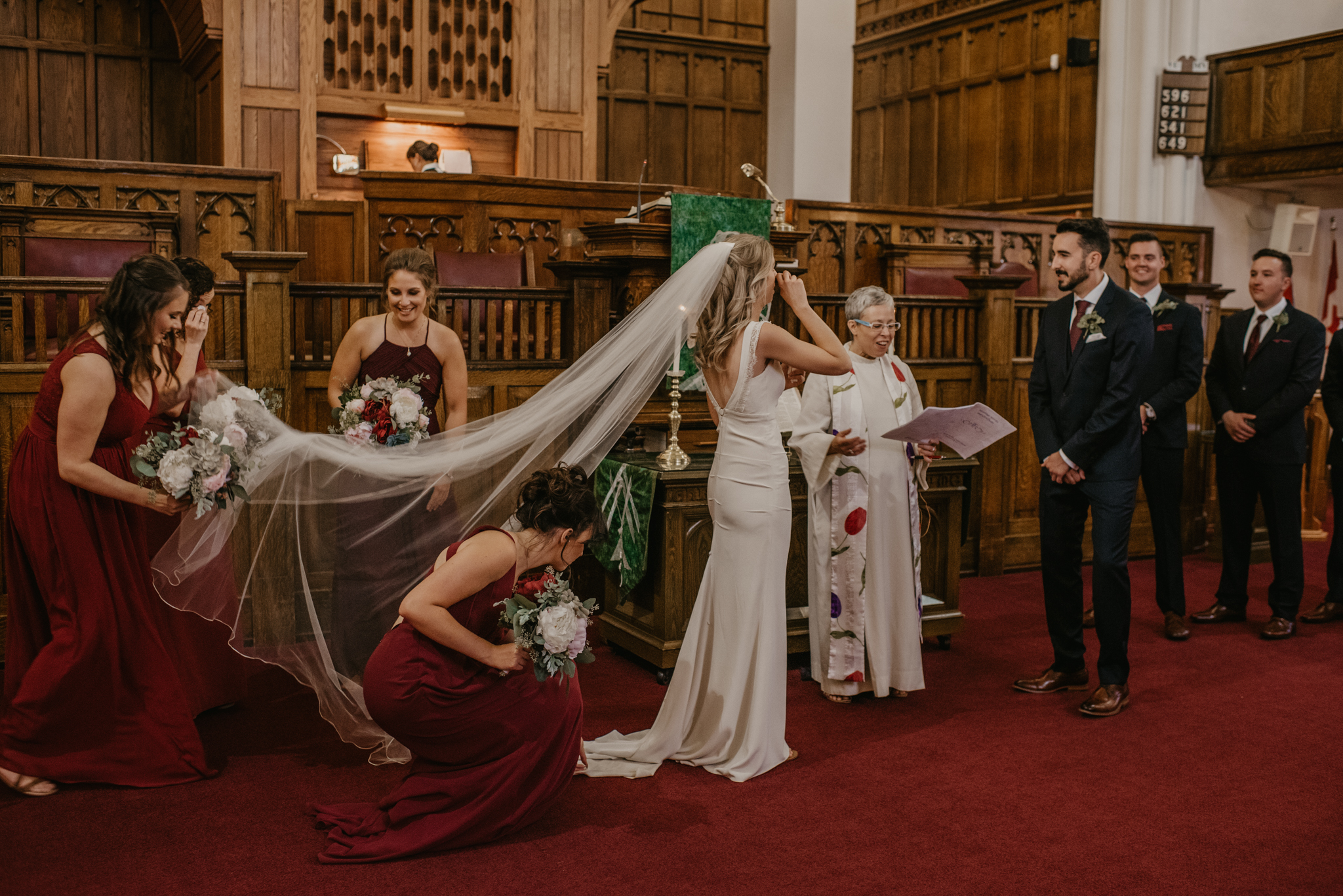 Edmonton Church Wedding