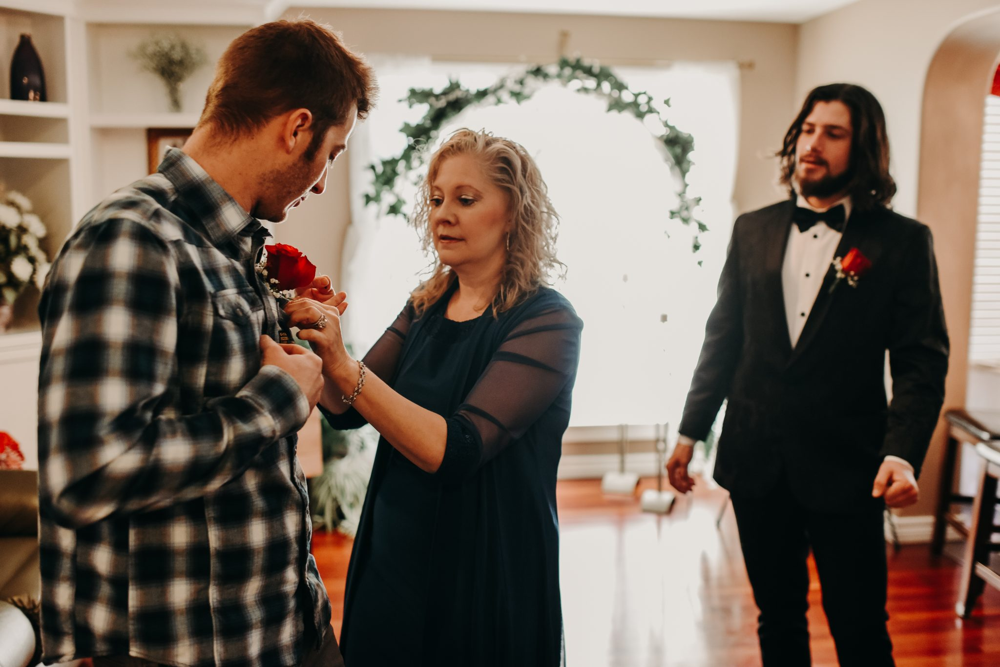 Intimate house wedding St. Albert