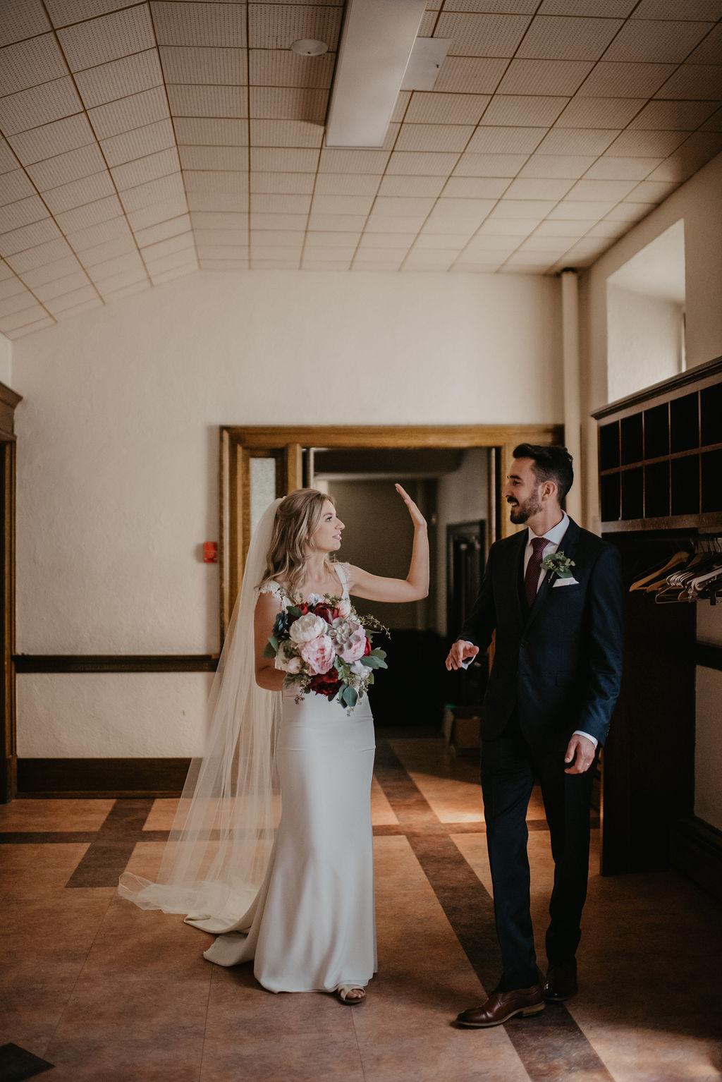 Romantic Edmonton Wedding