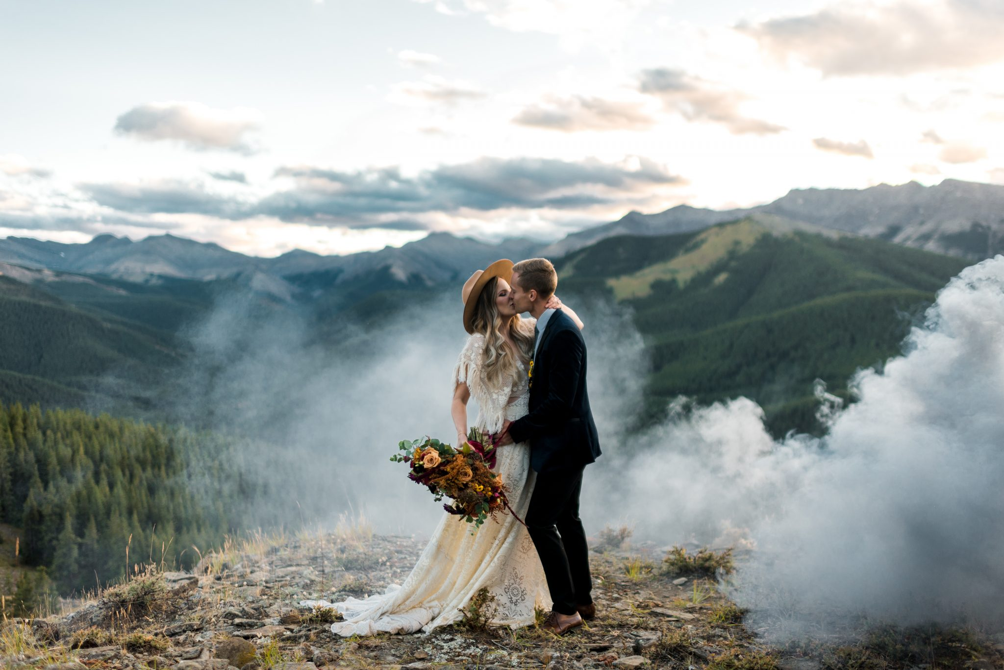 Alberta Rocky Mountain Wedding Photographer
