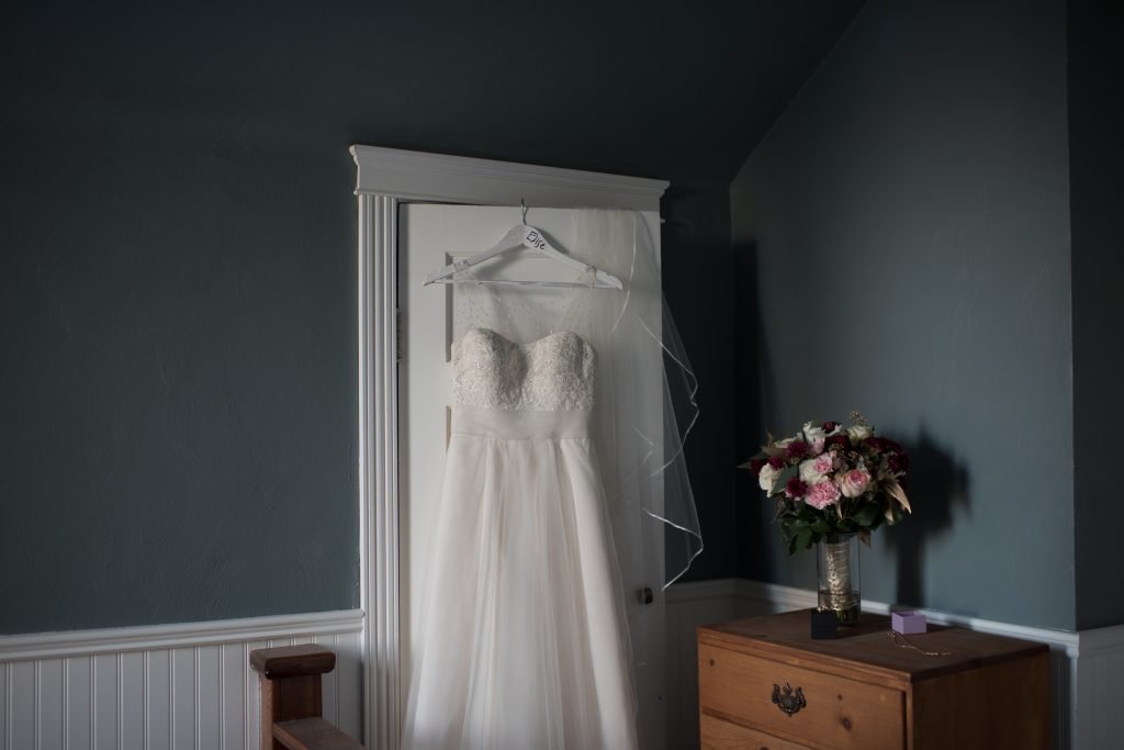 Edmonton Winter Wedding Dress
