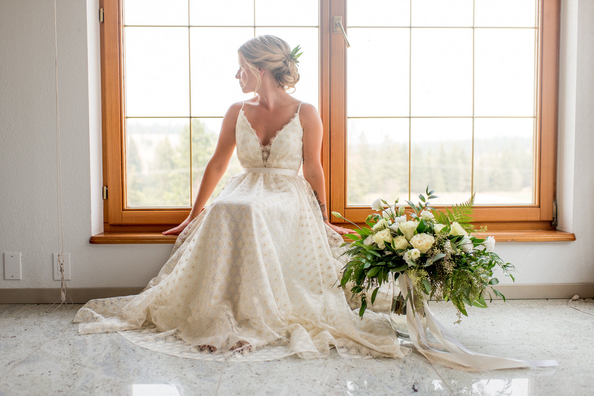 Truvelle bridal dress