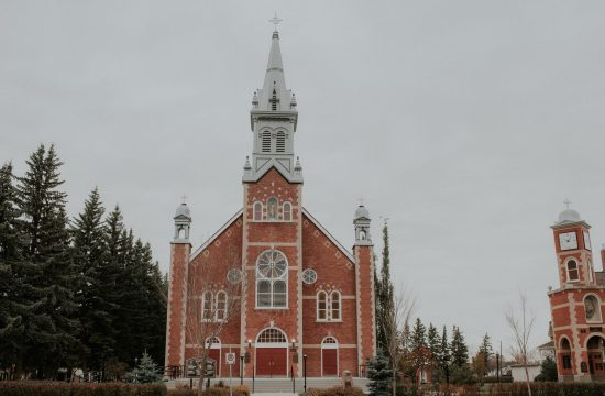 St. Jean Baptiste Parish Morinville Alberta Canada