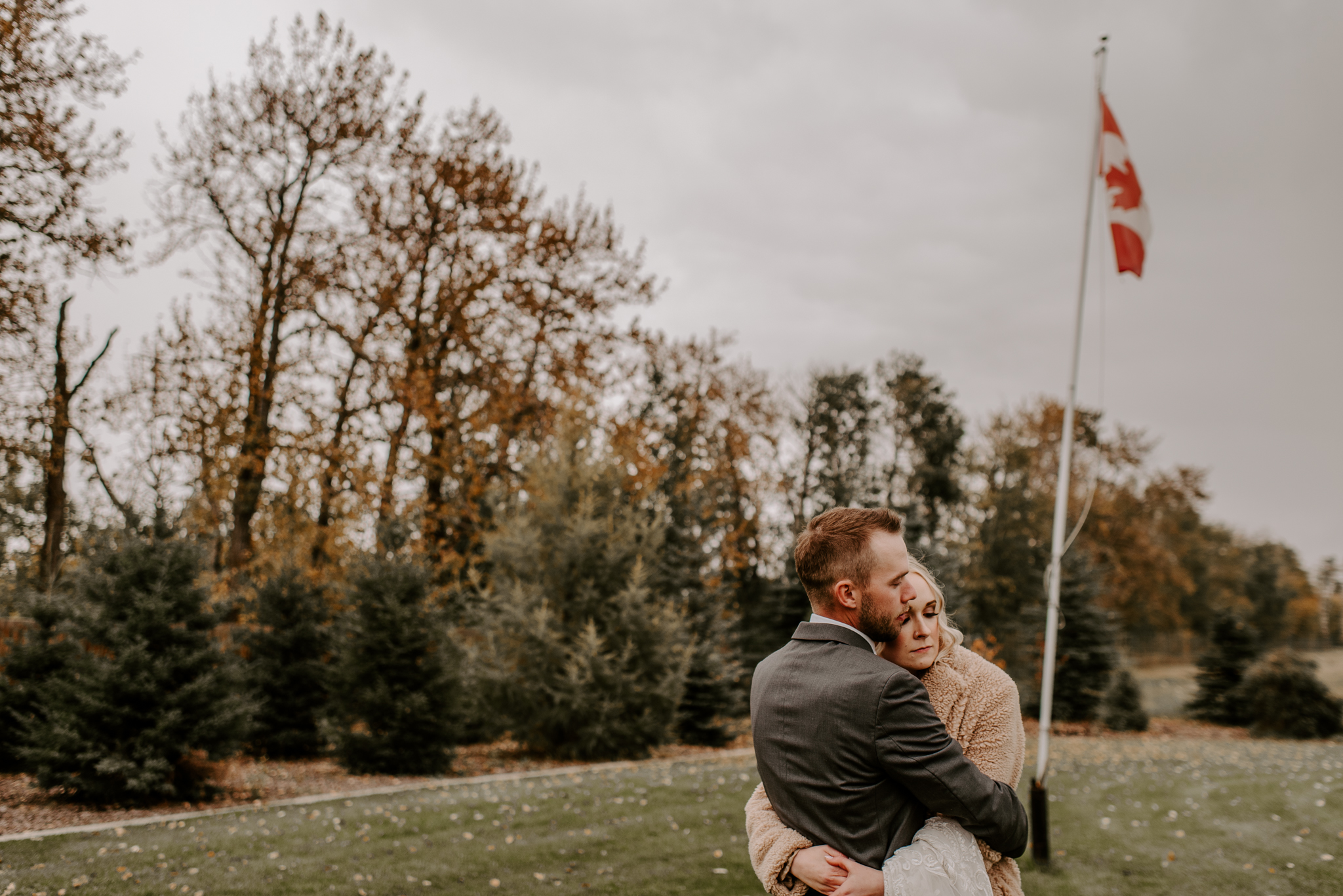 October Alberta Wedding