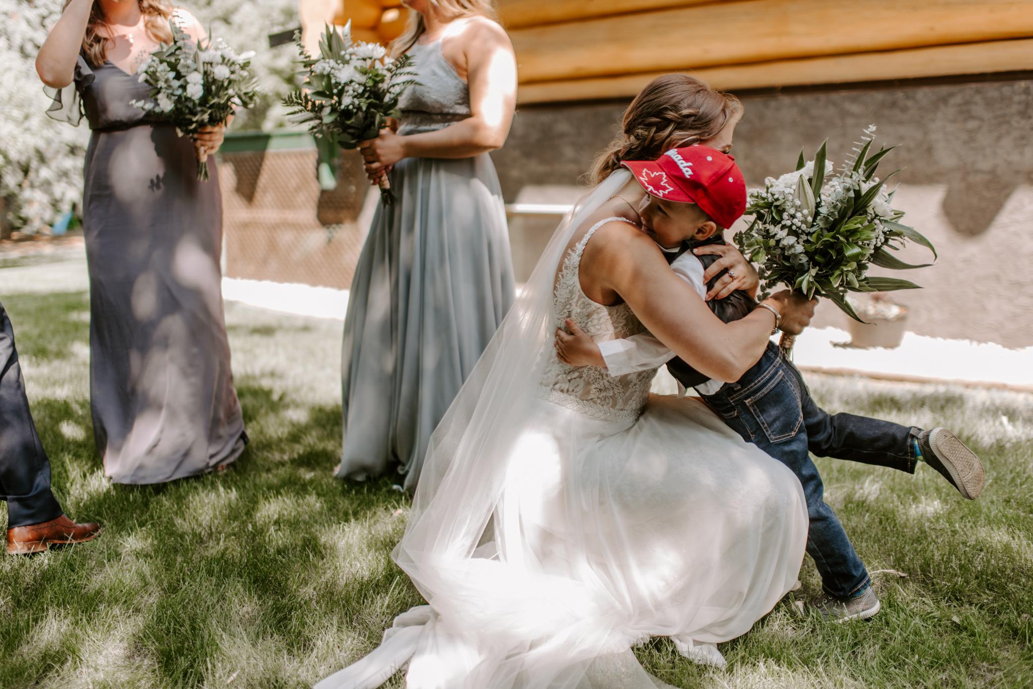 Edmonton Summer Wedding