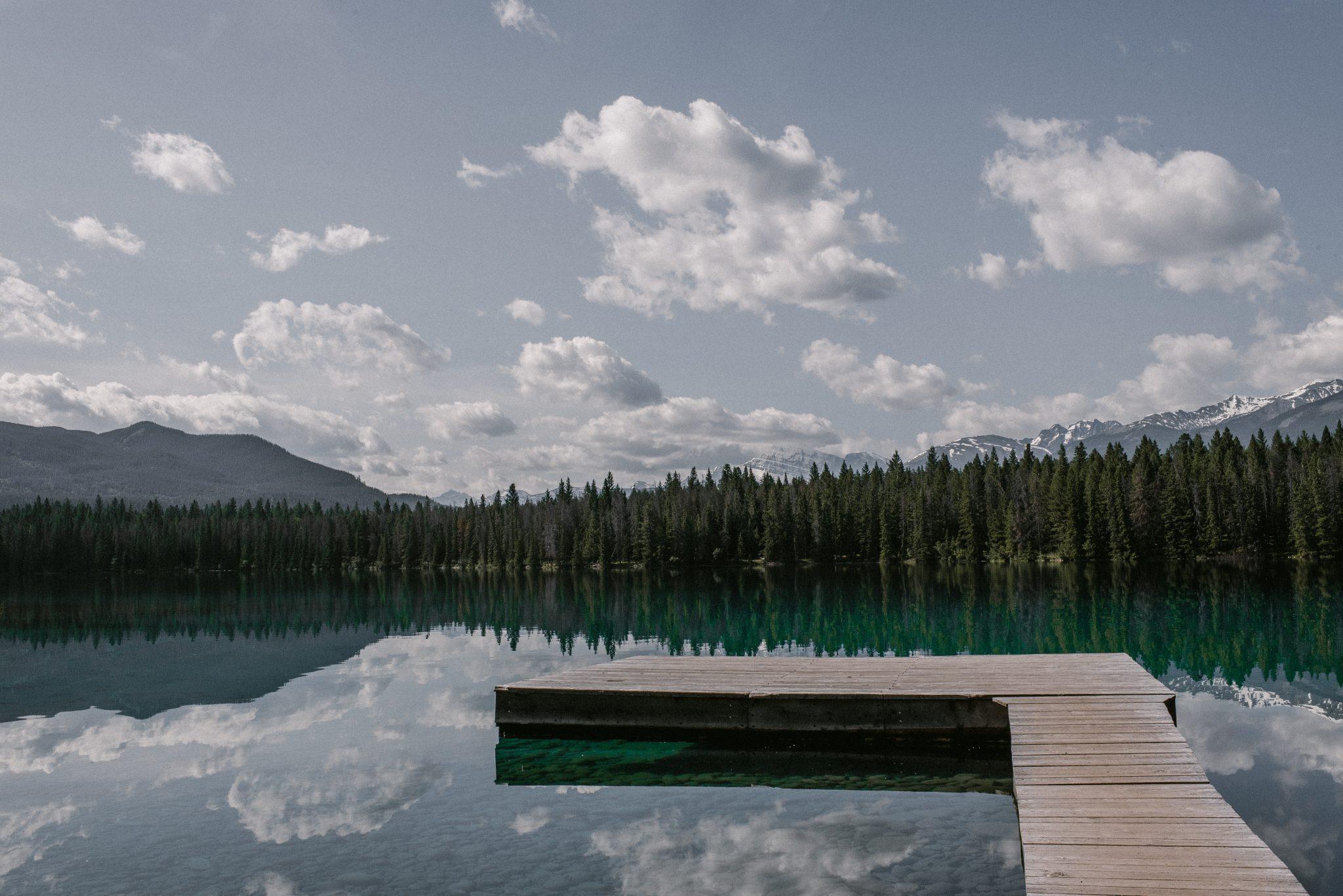 Lake Annette Jasper National Park