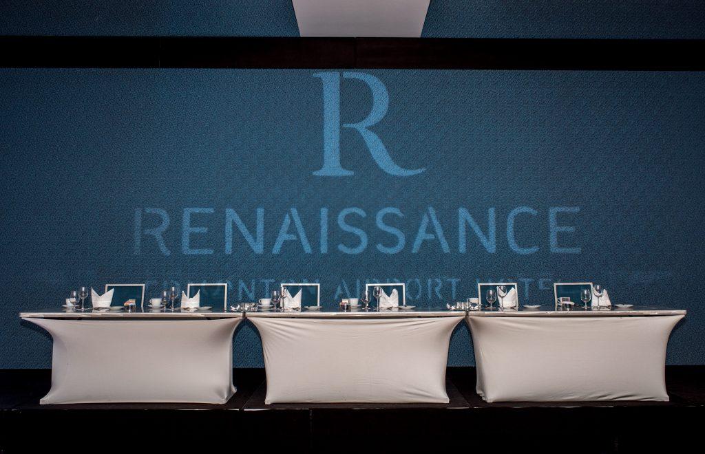 Ballroom at the Renaissance Edmonton Airport Hotel