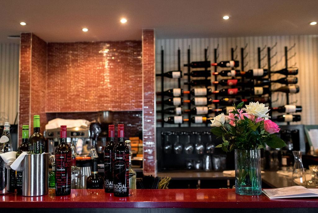 Riverbank Bistro St. Albert, Bar, Wine, Restaurant Wedding