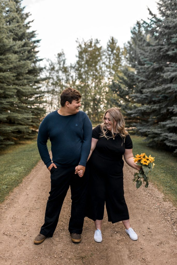 Edmonton Fall Engagement Session