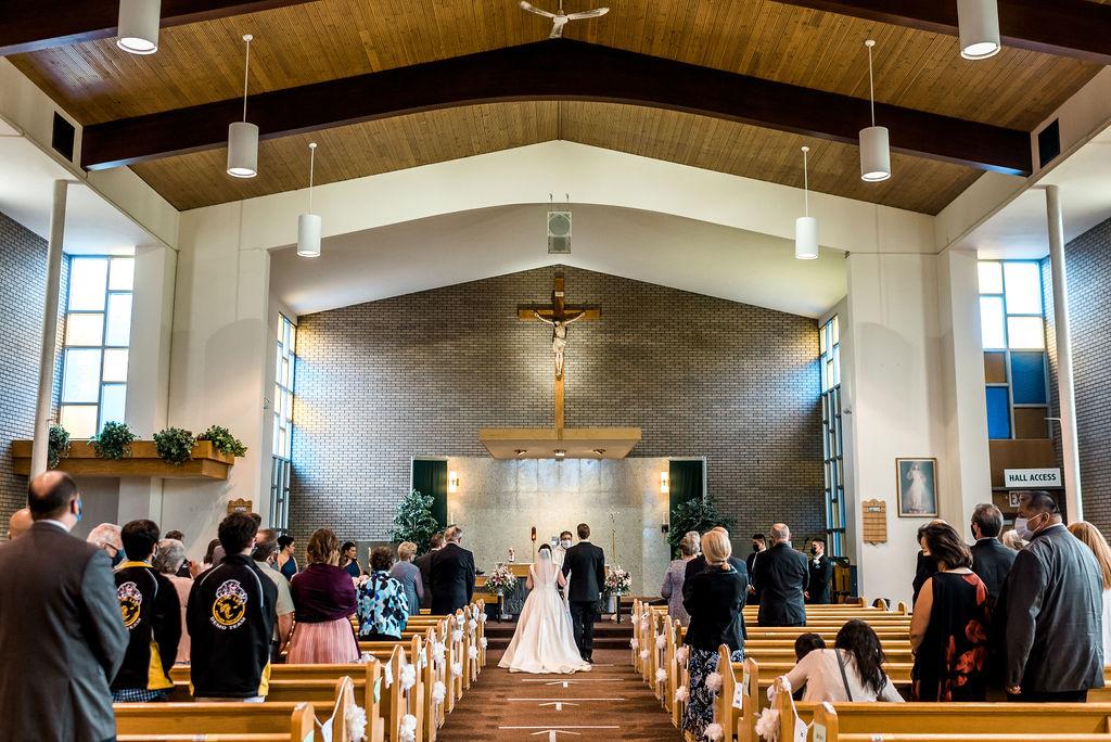 Wedding Ceremony, Covid Wedding, Catholic Wedding