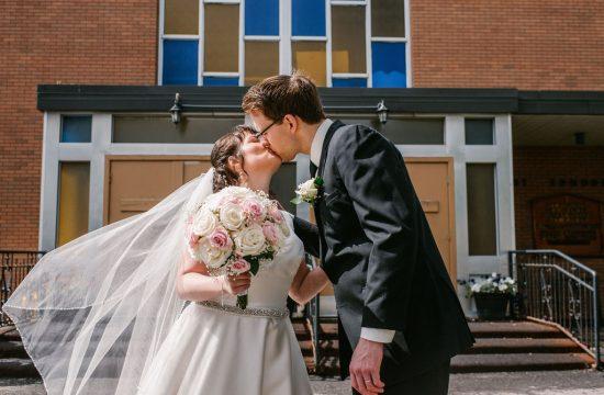 Church Wedding, Bride and Groom, Catholic Wedding