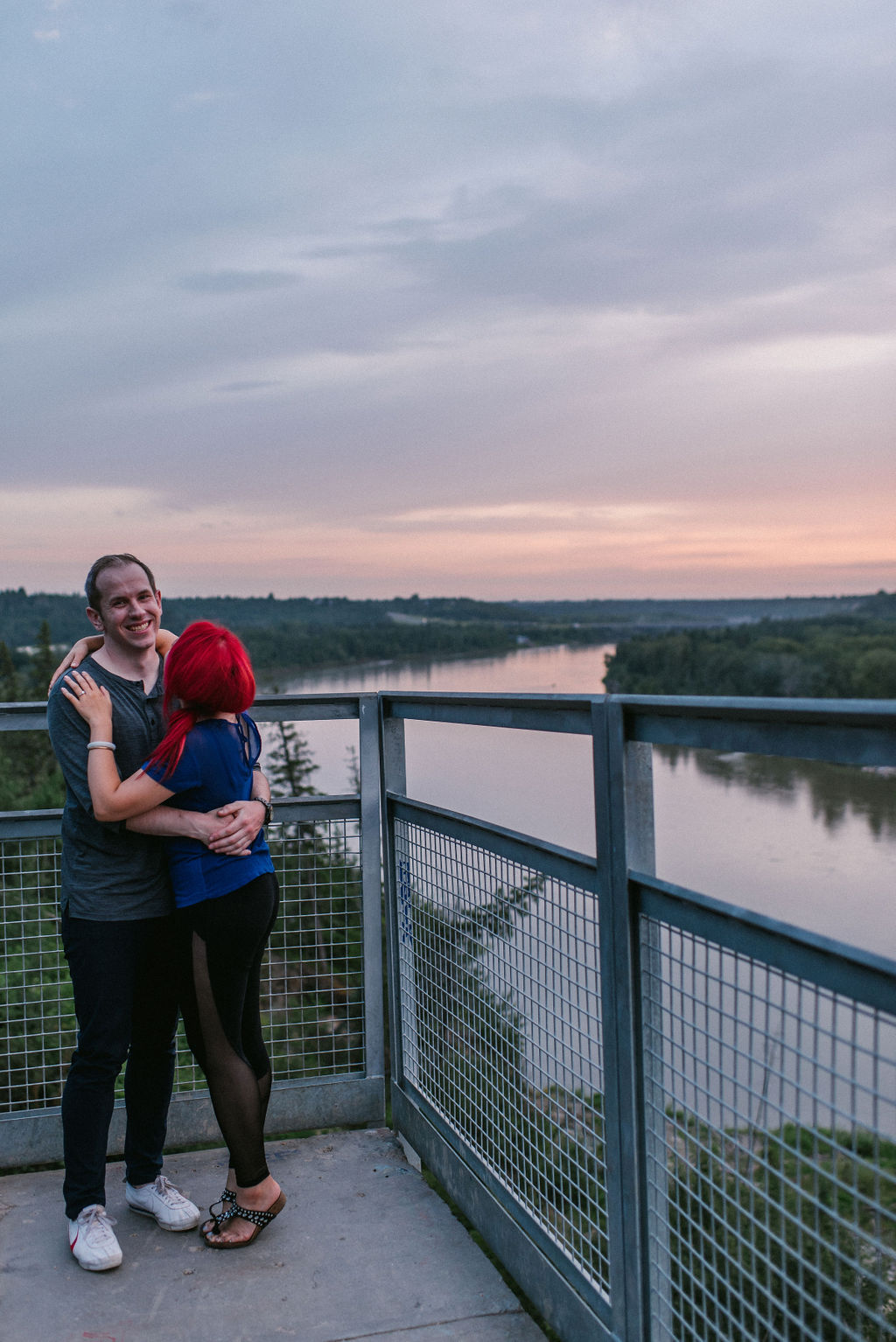 Edmonton river valley engagement session