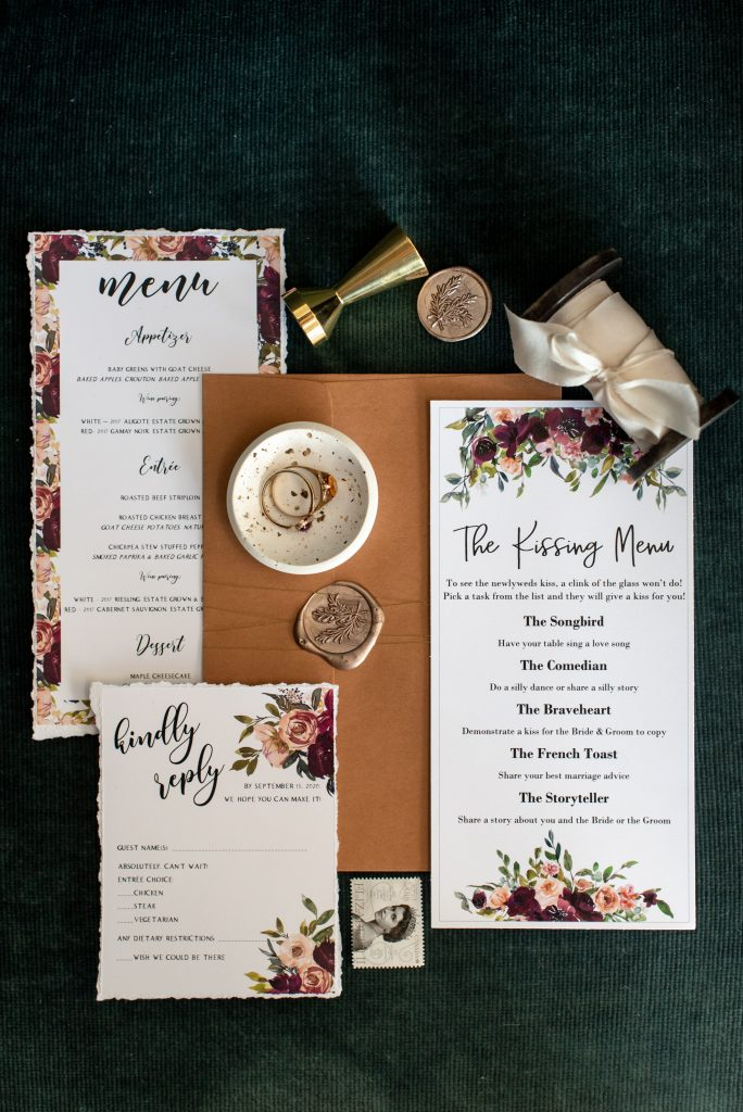 Wedding stationery, floral wedding stationery, wedding design, wedding inspiration
