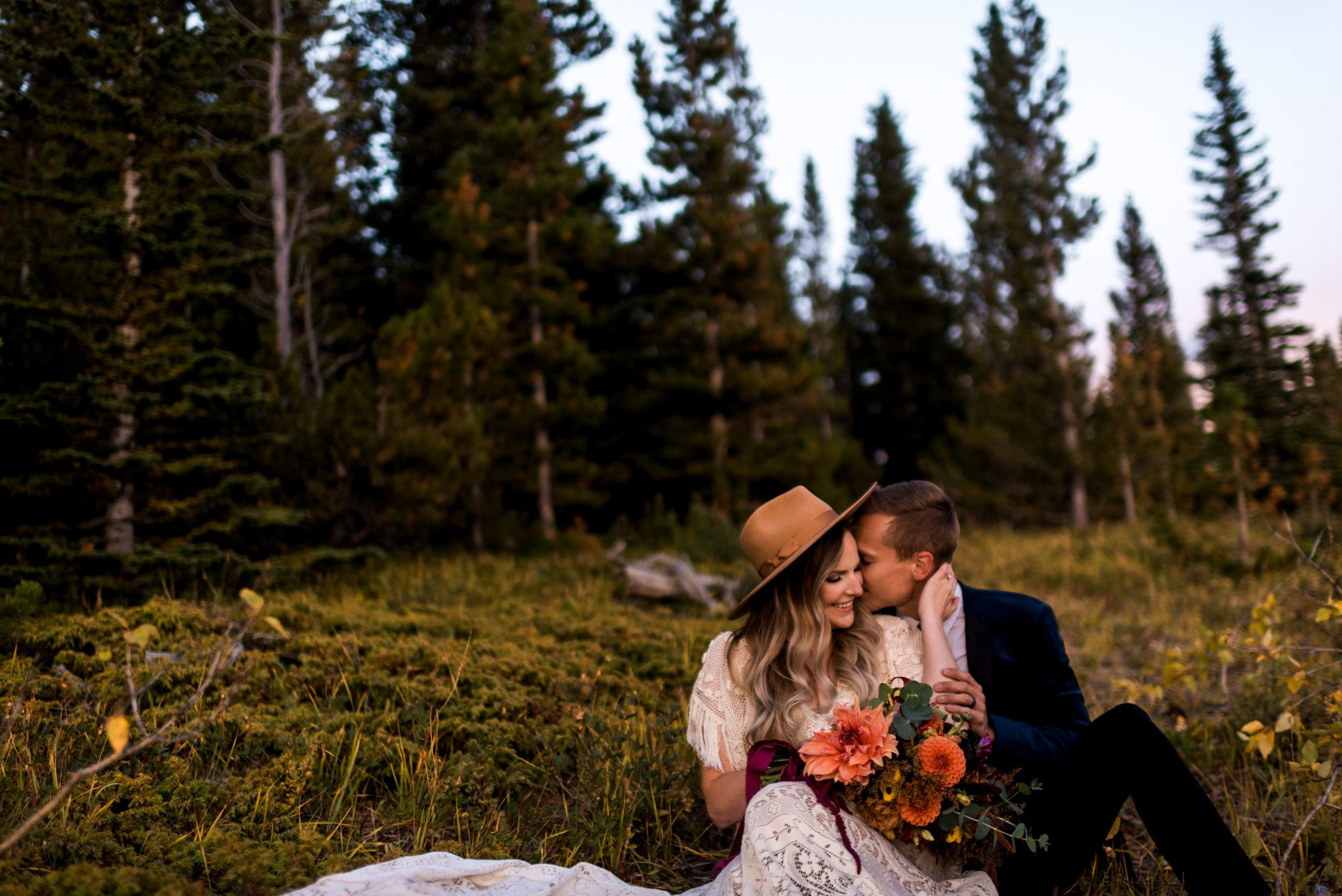 Alberta Elopement, Elopement Photographer