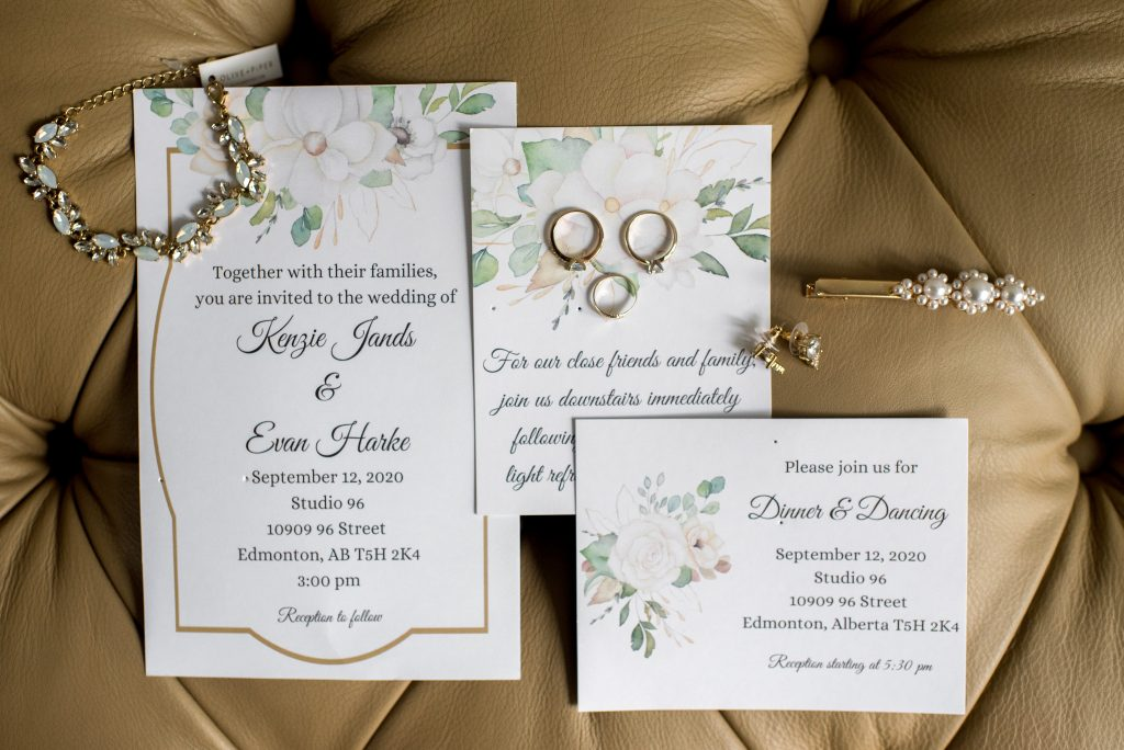 Stationery and bridal jewellery