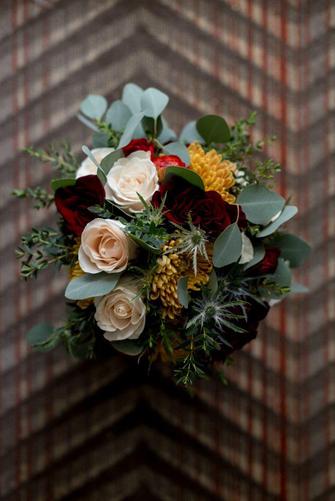 Winter bridal bouquet inspiration